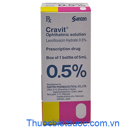 Cravit ophthalmic solution