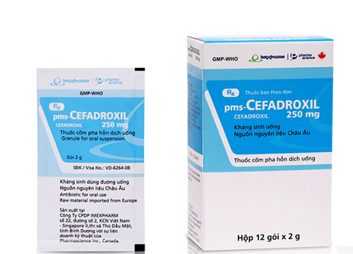 pms-Cefadroxil 250 mg
