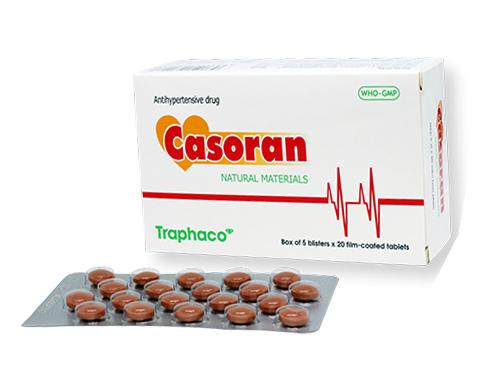 Thuốc hạ huyết áp Casoran