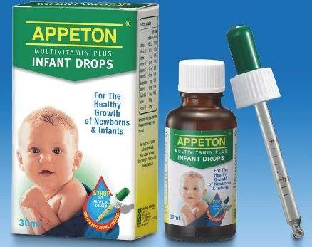 Appeton multivitamin plus infant drops