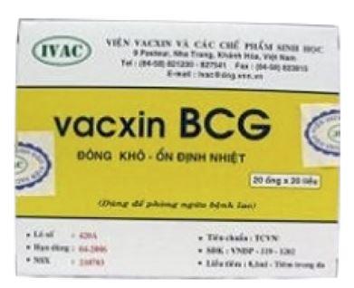 Vắc xin phòng lao BCG