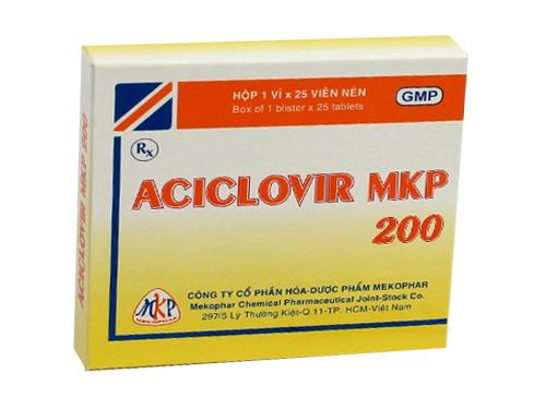 Aciclovir MKP 200