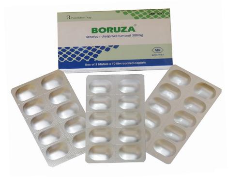 Boruza - Thuốc biệt dược, công dụng , cách dùng - QLĐB-504-15