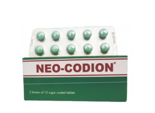 Neo-Codion - Thuốc biệt dược, công dụng , cách dùng - VN-18966-15