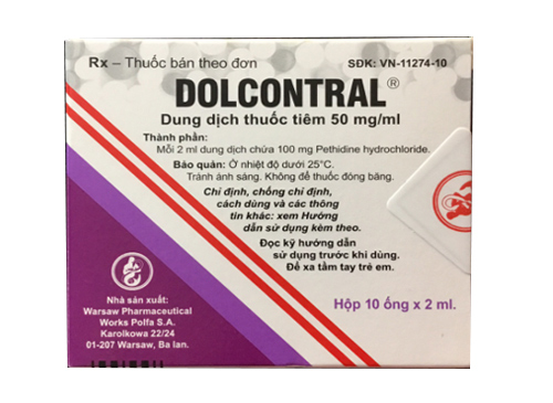Dolcontral 50mg/ml
