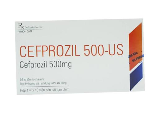 Cefprozil 500-US