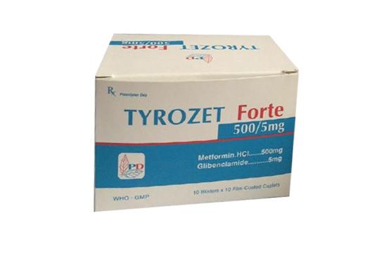 Tyrozet Forte 850/5 mg