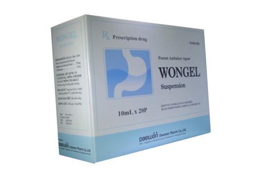 Wongel suspension