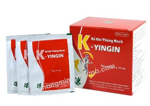 Bổ khí thông mạch K-Yingin