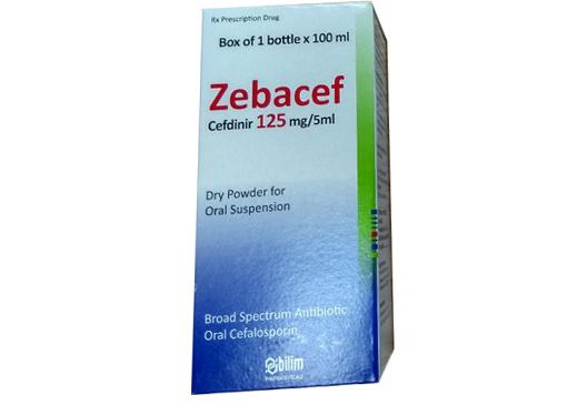 Zebacef 125mg/5ml