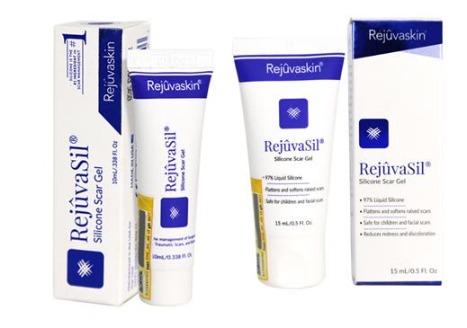 Gel ngăn ngừa và xóa sẹo lồi, sẹo phì đại, sẹo sau phẫu thuật Rejuvasil - Rejuvaskin