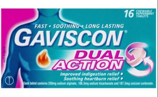 Gaviscon Dual Action