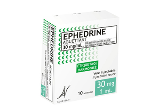 Ephedrine Aguetant 30mg/10ml