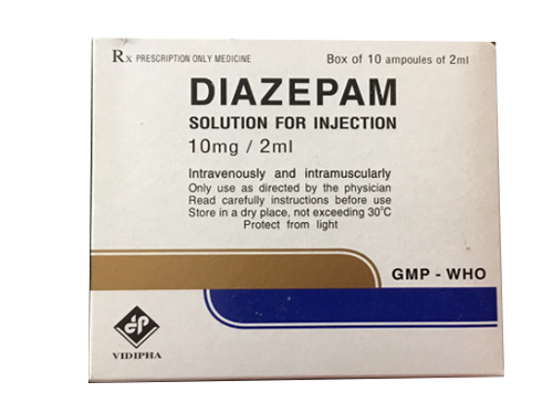 Diazepam 10mg/2ml