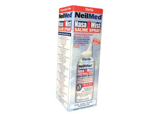 Neilmed Nasamist Saline Spray Isotonic