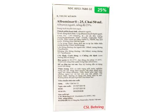 Albuminar 25