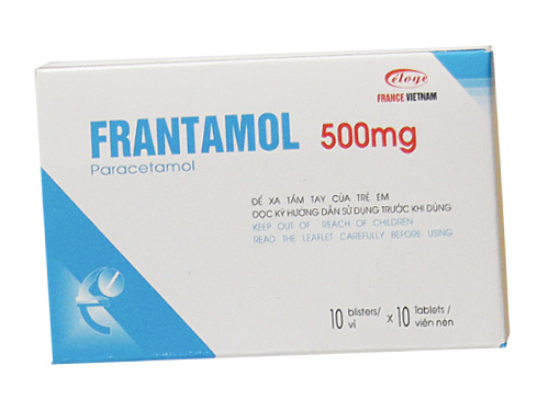 Frantamol 500 mg