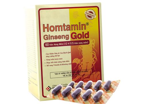 Homtamin ginseng gold