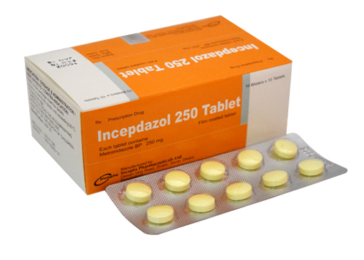 incepdazol 250 tablet