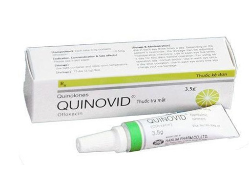 Quinovid Ophthalmic Ointment