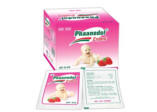 Phaanedol enfant