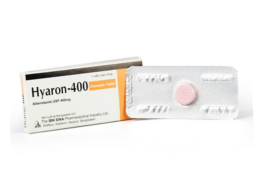 Hyaron-400 Chewable Tablet