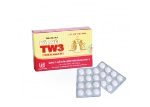 Thuốc ho bổ phế TW3