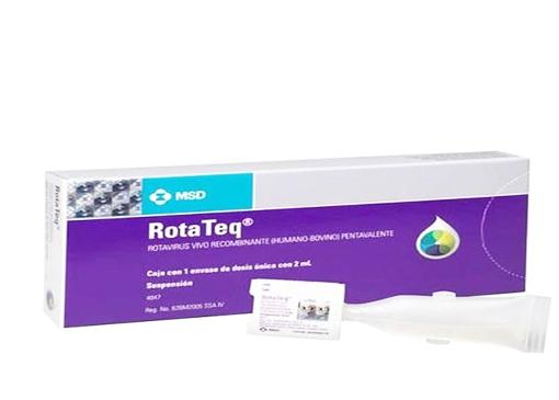 Vắc xin Rotateq ngừa tiêu chảy do rotavirus