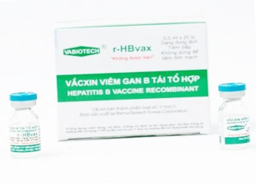 Vắc xin viêm gan B HBvax