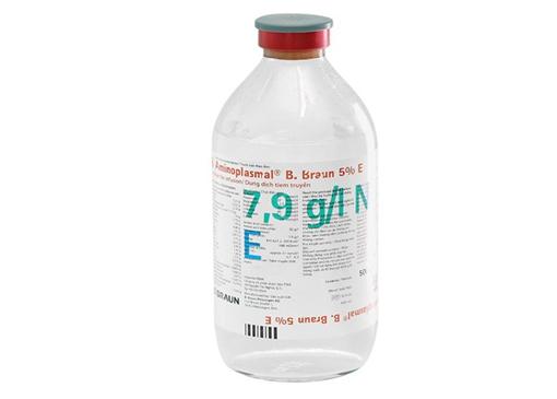Aminoplasmal 5% E