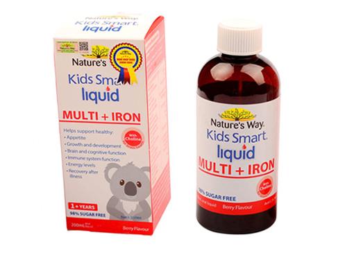 Kids Smart Liquid Multi + Iron