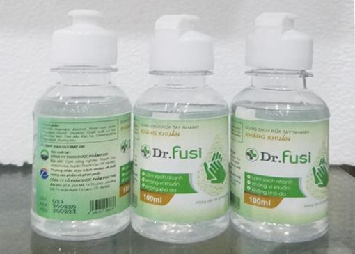 Dung dịch rửa tay nhanh kháng khuẩn Dr.Fusi