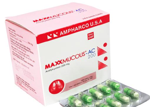 Maxxmucous-AC 200