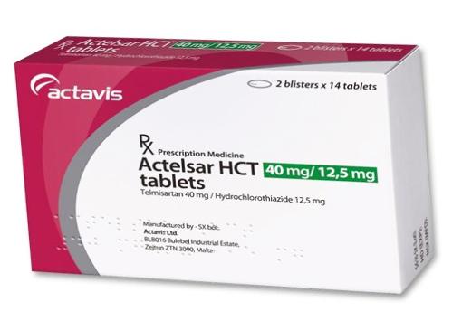 Actelsar HCT 40mg/12,5 mg