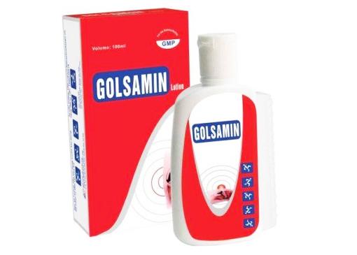 Golsamin lotion