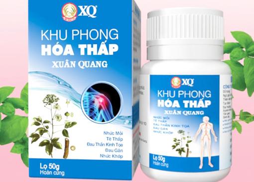 Khu phong hóa thấp Xuân Quang
