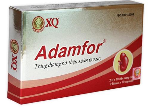 Adamfor – Tráng dương bổ thận Xuân Quang
