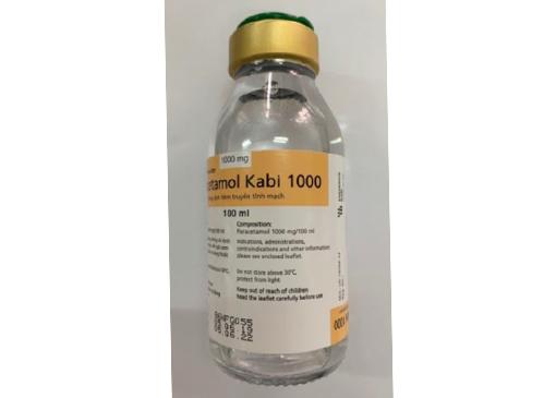 Paracetamol Kabi 1000