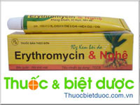 Erythromycin & Nghệ 10g