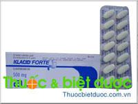 Klacid Forte 500mg