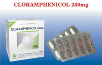 Cloramphenicol 250mg