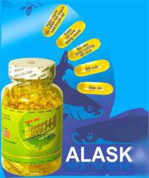 Dầu cá biển sâu-ALASK Omega 3-6-9