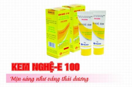 Thu hồi sản phẩm mỹ phẩm kem dưỡng da kem nghệ E100 của Công ty TNHH Tân Hà Lan