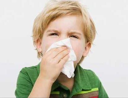 Chứng chảy máu cam dễ gặp ở trẻ em.