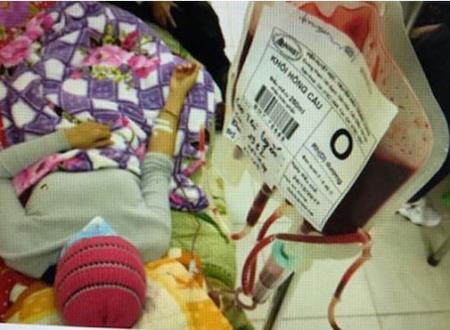 Nhu cầu máu nhóm O cho điều trị luôn rất cao. ẢNH-VIỆN HUYẾT HỌC-TRUYỀN MÁU T.Ư CUNG CẤP.
