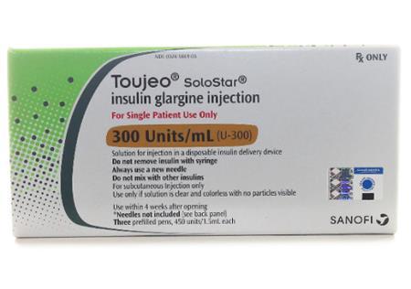 Thông tin thuốc Toujeo SoloStar để điều trị tiểu đường