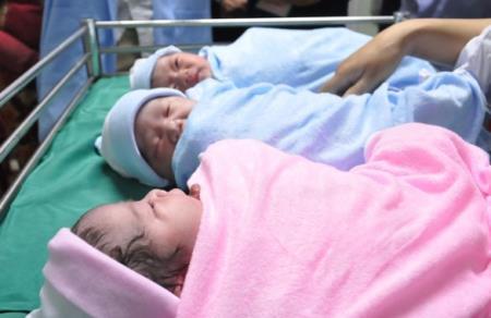 Tổng tỷ suất sinh ở TP.HCM năm 2018 là 1,33 con/phụ nữ trong độ tuổi sinh đẻ, ở mức rất thấp so với mức sinh thay thế của cả nước là 2,10 con. Ảnh TNO