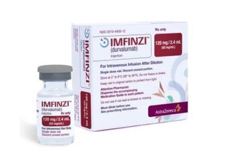 Thuốc Imfinzi (durvalumab) điều trị bệnh nhân ung thư phổi tế bào nhỏ