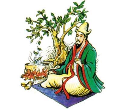 Truyền thuyết kể lại vào năm 2737 trước Công nguyên, Viêm Đế hay còn gọi là Thần Nông là người đầu tiên uống thử thức nước pha ra từ lá trà.