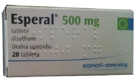 Thuốc Esperal là gì, công dụng cách dùng thuốc